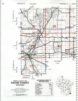 Map Image 029, Kenosha and Racine Counties 1986
